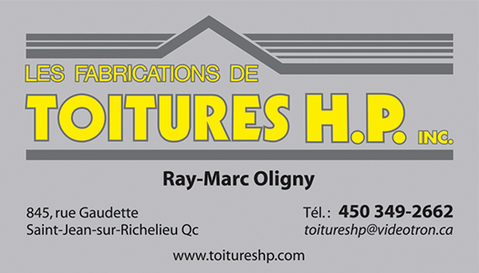 Les fabrications de Toitures H.P. Inc.